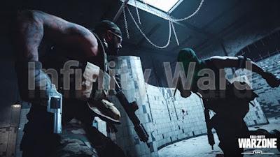 تحظر أكثر من 70.000 مستخدم Infinity Ward شركة  Call of Duty : Warzone من لعبة
