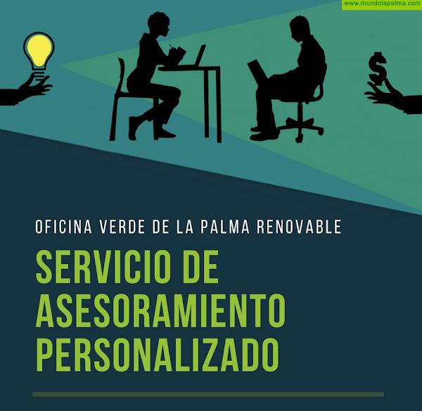 La Oficina Verde de La Palma Renovable pone en funcionamiento un nuevo servicio de asesoramiento online personalizado sobre ahorro energético