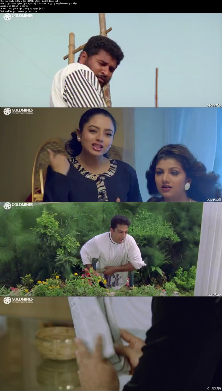 Kaathala Kathala 2017 HRip 480p Hindi Dubbed