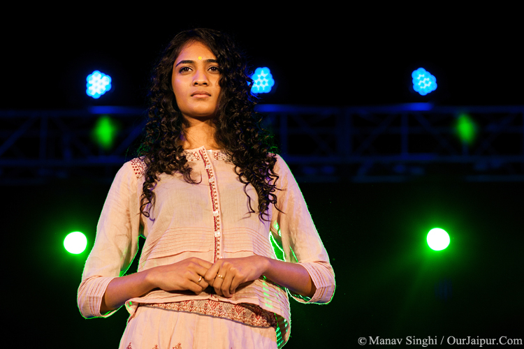 Model Ginni JOGAN The Sufi Fashion Showcase SAARC Jaipur Sufi Festival.