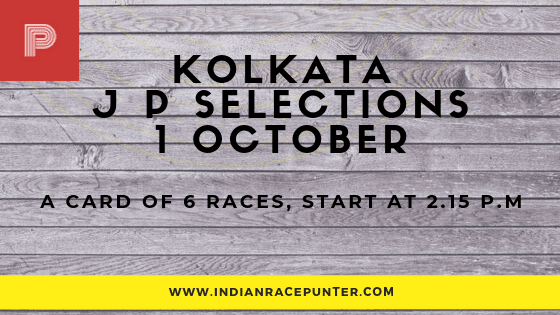 Kolkata Jackpot Selections 1 October