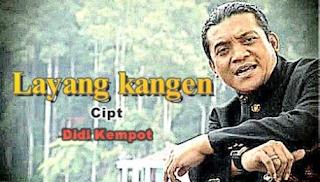 Lagu Didi Kempot Layang Kangen
