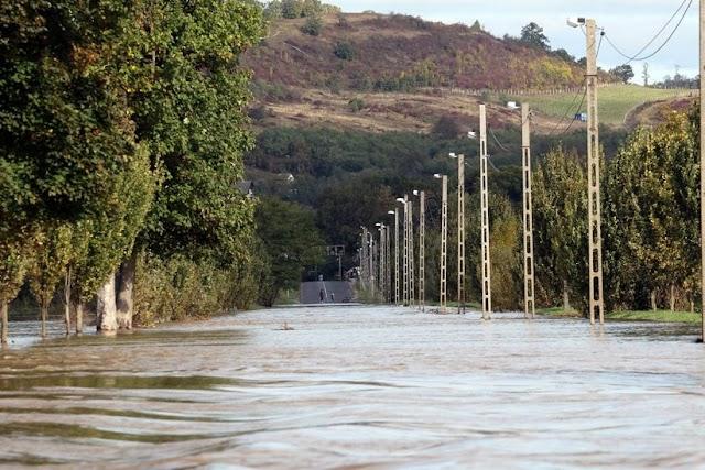 OVF: levonulóban van az árhullám a borsodi folyókon