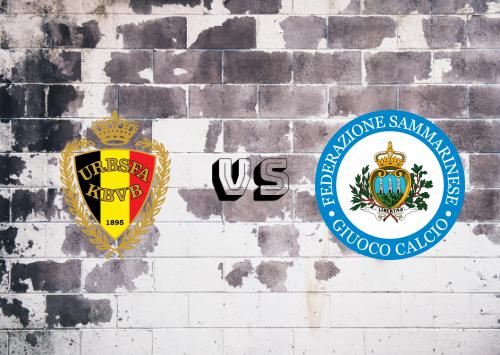 Bélgica vs San Marino  Resumen y Partido Completo