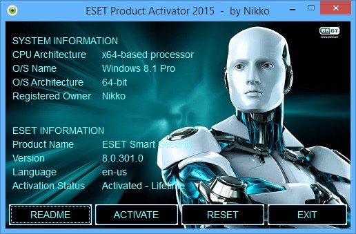 ESET NOD32 Antivirus 8 Lifetime Crack ~ Hot Shot Gamers