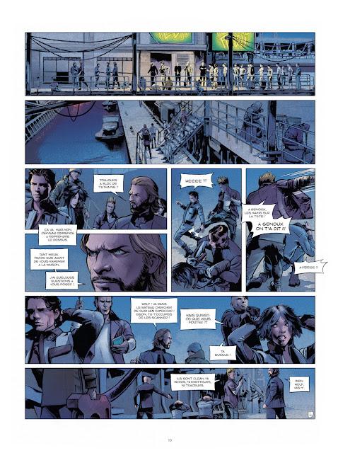 Optic Squad Tome 1 - Mission Seattle de Sylvain Runberg et Stéphane Bervas aux éditions Rue de Sèvres Page 10