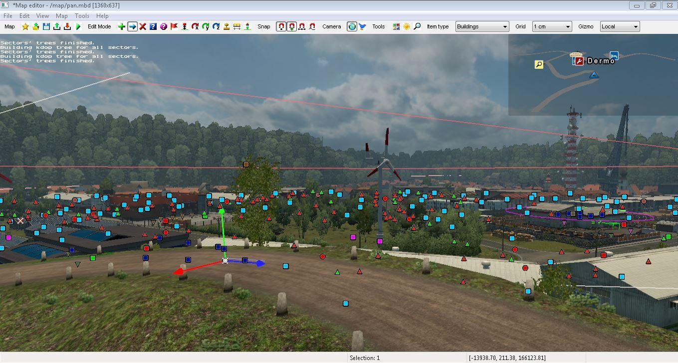 Pejindo Blogs: Map Editor Tutorial Euro Truck Simulator 2 (ETS2) (Part4)