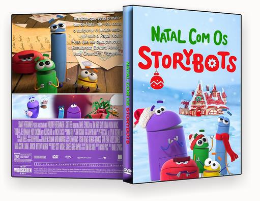 CAPA DVD – Natal Com Os StoryBots 2017 DVD-R