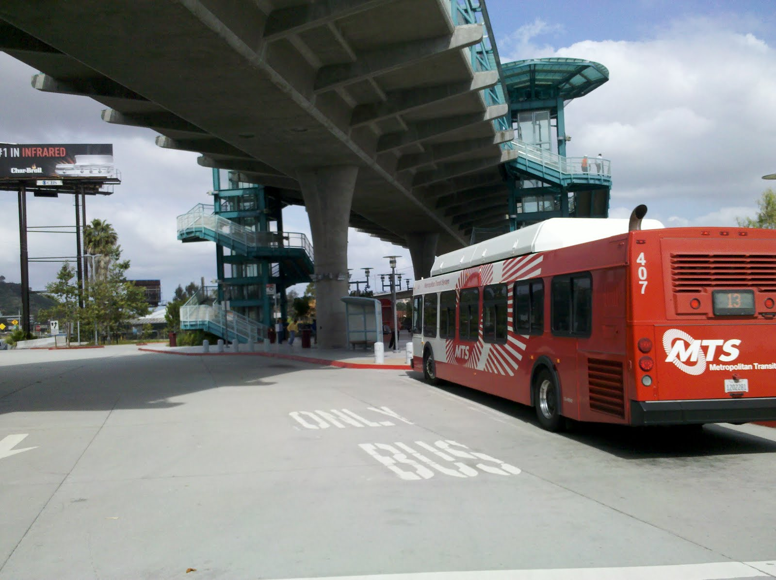 Beach Drive Parking Trolley Station