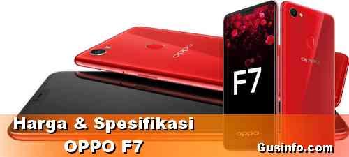 Harga & Spesifikasi HP OPPO F7