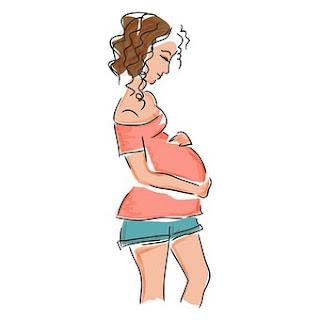 الامساك عند الحامل