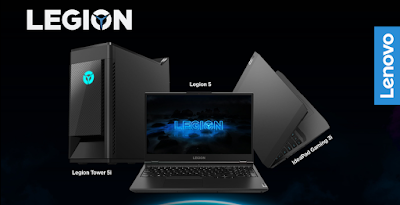 Legion Gaming Laptops Devices