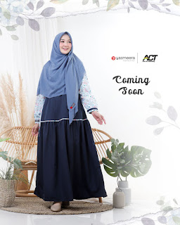 Koleksi Baju Muslim Modern Terbaru Malika Dress