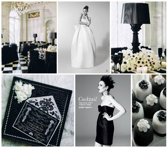 White And Black Wedding Ideas: Black And White Wedding Theme