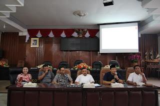 Bahas Naskah Akademik Tiga Raperda Inisiatif, Dewan  Undang PP Otoda UB