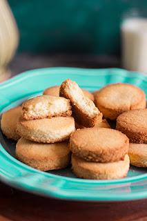Gluten-free Coconut Shortbread Cookies
