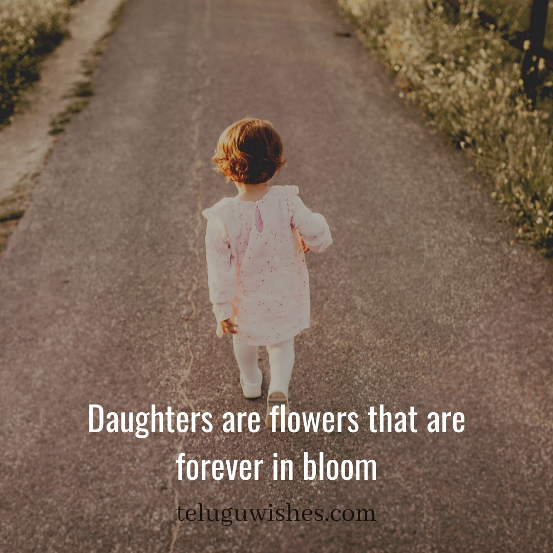 daughters are flowers Save Girl child slogans
