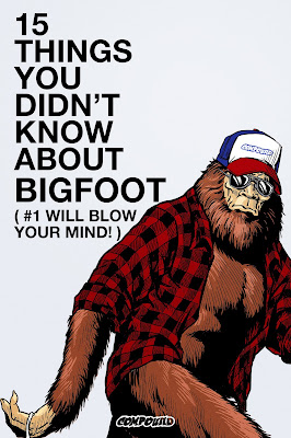15 THINGS YOU DIDN'T KNOW ABOUT BIGFOOT movie poster