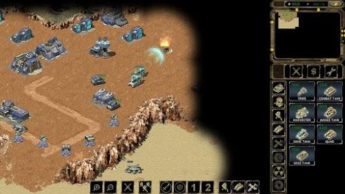 تحميل لعبة شبيهة جنرال و ريد اليرت للاندرويد Expanse RTS