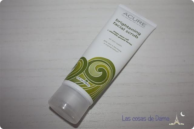 Brightening Facial Scrub Acure Organics Iherb