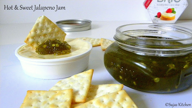 Hot & Sweet Jalapeno Jam