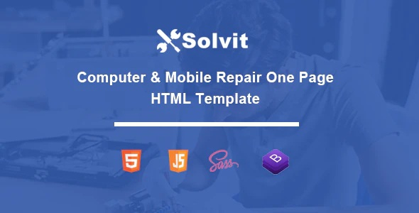 Computer & Mobile Repair Template