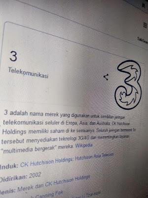 Beberapa Hari Ini Jaringan Tri Sering Hilang di Medan