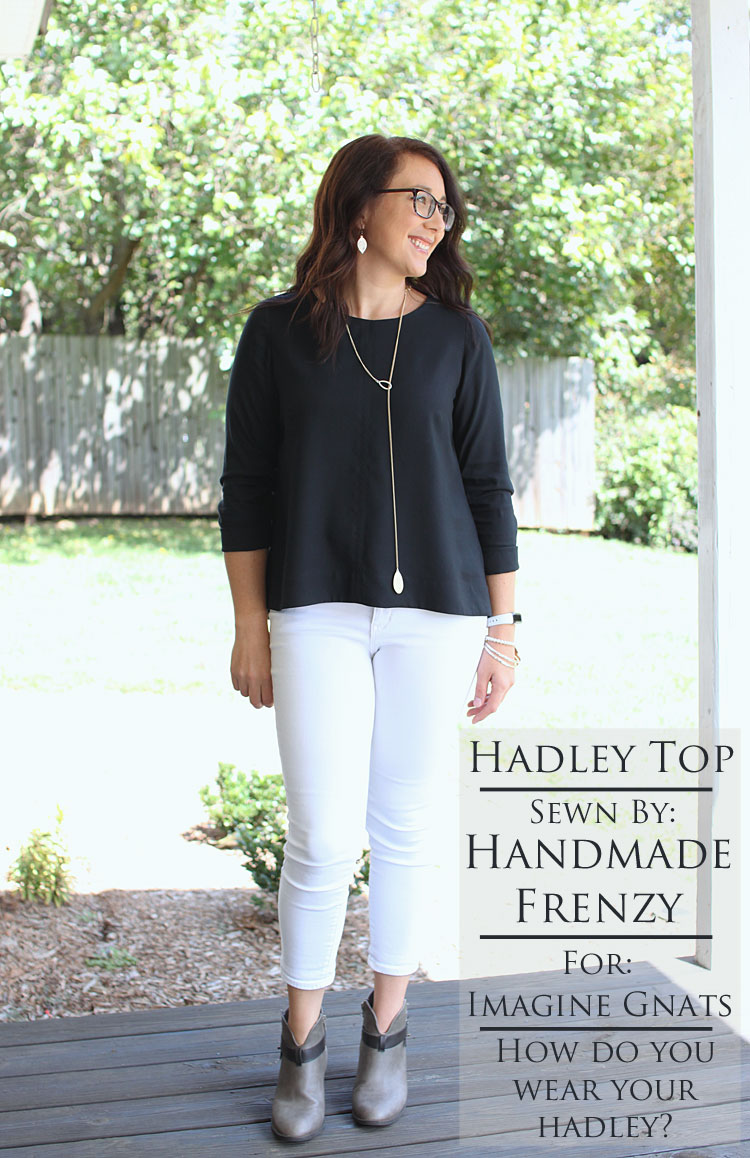Grainline Hadley Top // Sewing For Women