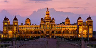 Mysore palace Evening