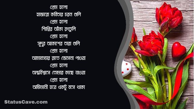 Bangla Romantic Status 22