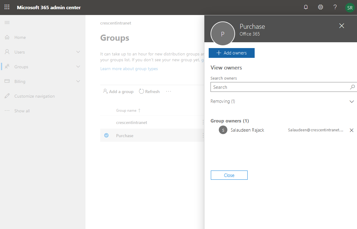 add owner to office 365 group powershell