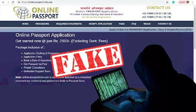 Fraud website