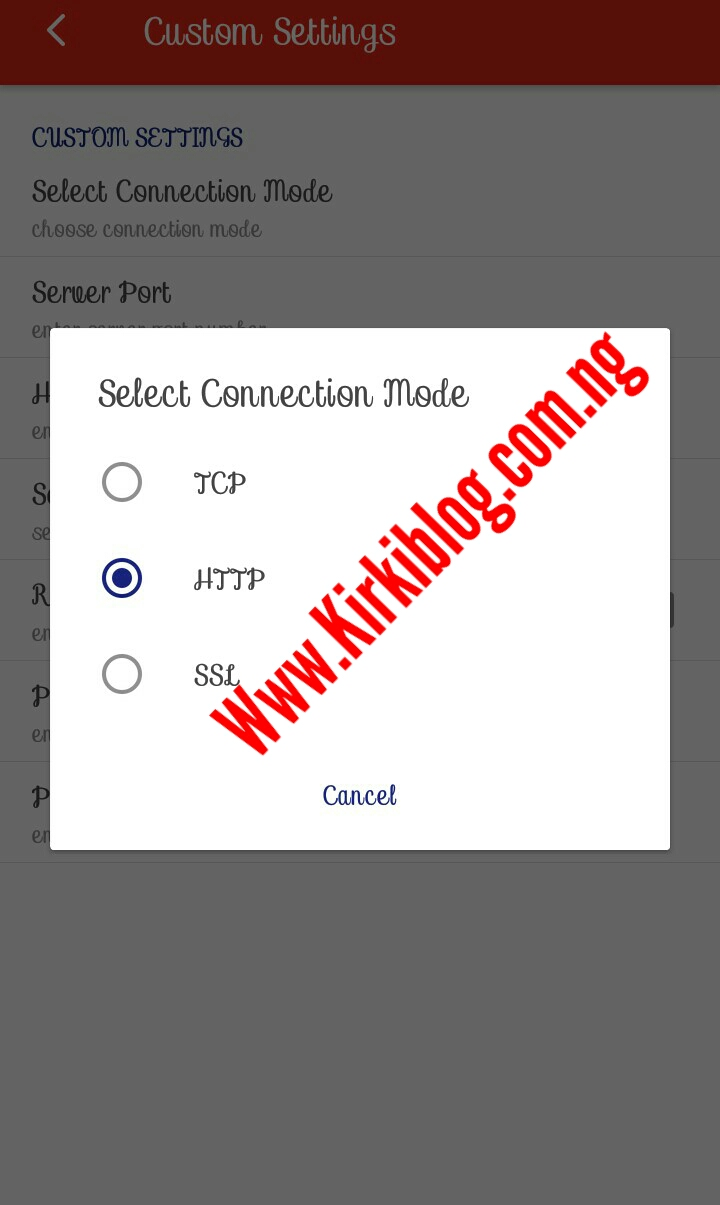 Latest MTN 0 0k Free Unlimited Browsing Cheat For Stark VPN