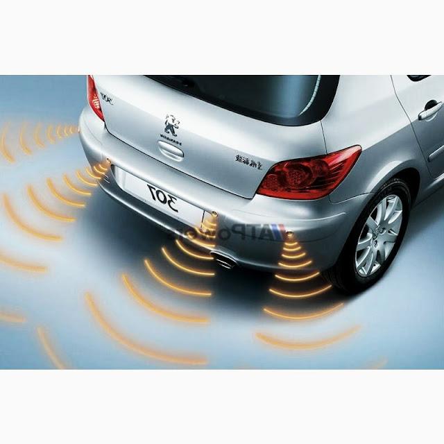 SAAB TRASERO en autos de la placa de Marcha atrás Reversa de estacionamiento de ayuda Sensor y Zumbador