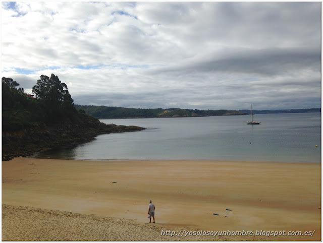 Playa de Cariño (Ferrol) otra vez