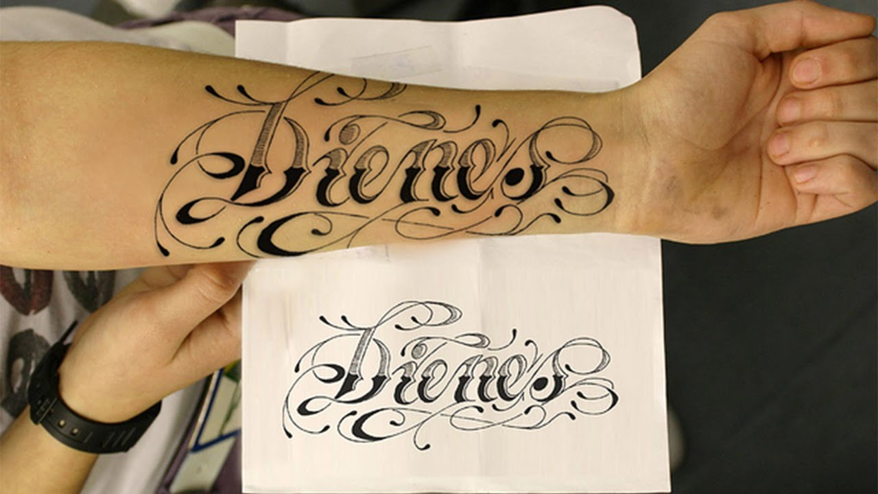 Name Tattoo Concept For Your Choice 2016 Tattoo Designs Ideas