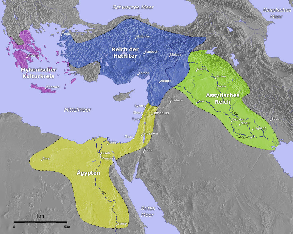 Map of Asia Minor  Mesopotamia and Ancient Egypt   Famous Pharaohs Map of Asia Minor  Mesopotamia and Ancient Egypt