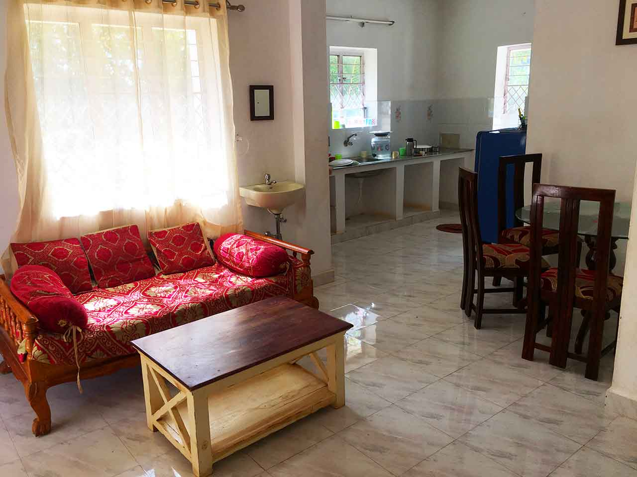 guest house for daily rent in yelagiri hills