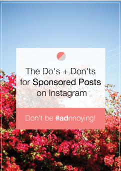 Sponsored Posts On Instagram