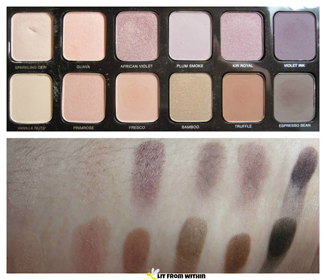 Laura Mercier Eye Art Artist's Palette and swatches
