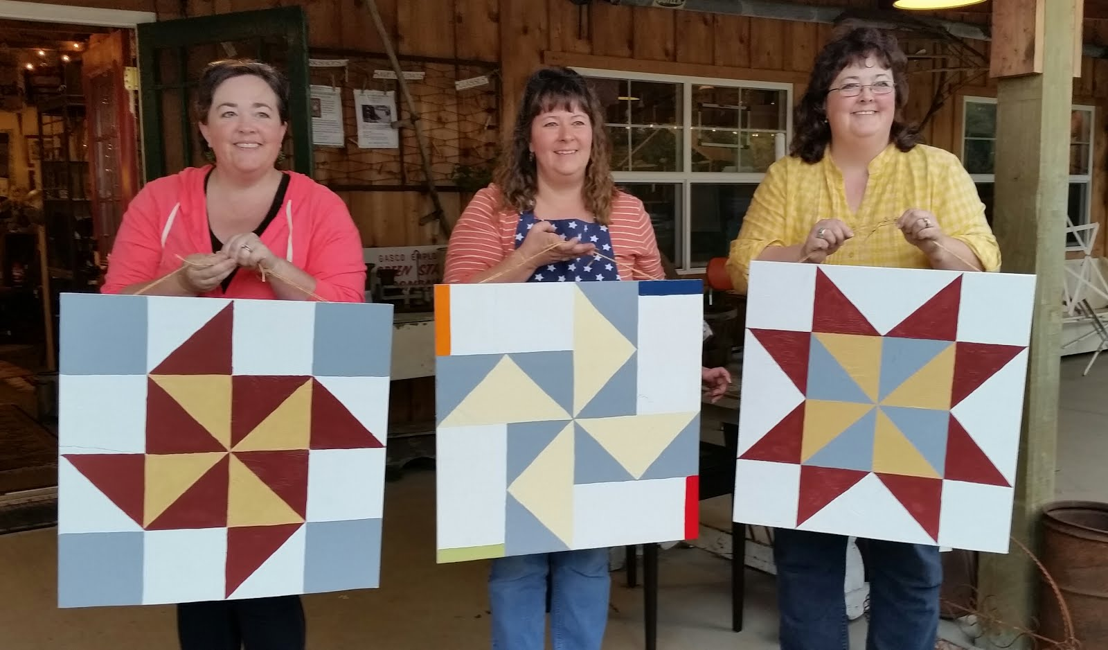 WOOD BARN QUILT WORKSHOP
