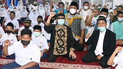 Wako Hendri Septa Lega, Pesantren Ramadan 1442 H/2021 M Berakhir Sukses