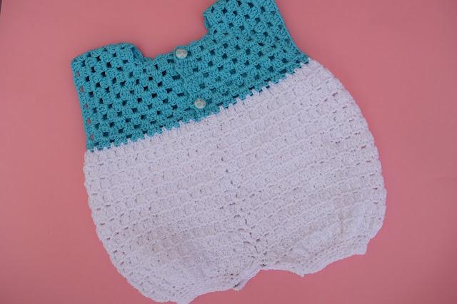 2 - Crochet Imagen Pantalones para canesú vintage a crochet y ganchillo Majovel Crocher facil sencillo DIY paso a paso