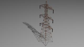HV Electric Tower / Pylon