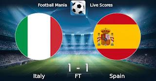 Испания U19 – Италия U19 смотреть онлайн бесплатно 20 июля 2019 прямая трансляция в 20:00 МСК.