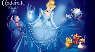 Cinderella dan Sepatu Kaca