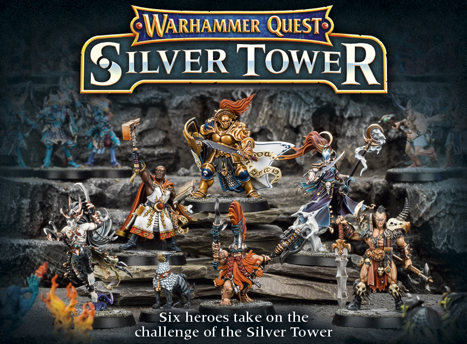 Warhammer Quest Silver Tower Video Gameplay And Status