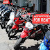 Touring with motorcycle, rental may be the first choice