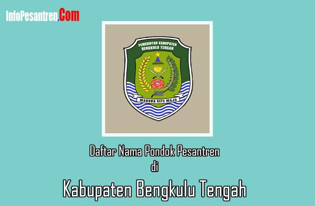 Pondok Pesantren di Kabupaten Bengkulu Tengah