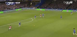 اهداف مباراة تشيلسى و مانشستر يونايتد 1 -1  فى الدورى الانجليزى